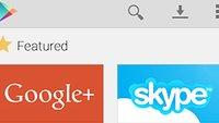 Play Store: Schickes Design-Konzept auf Google+ aufgetaucht