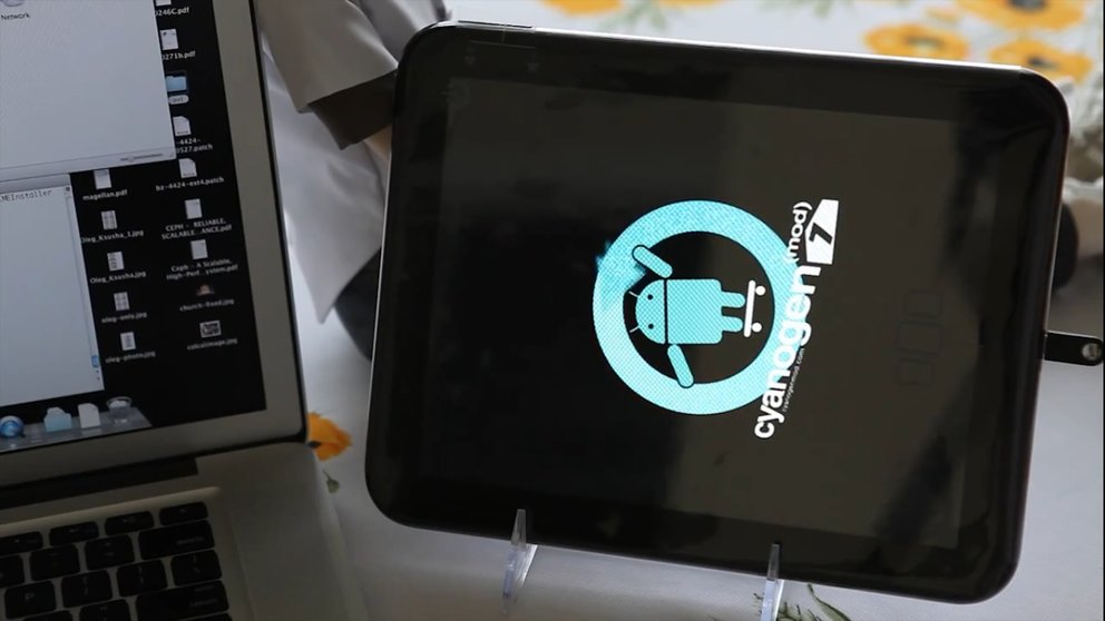 HP Touchpad: Android und Web OS -- Video zeigt Dual Boot