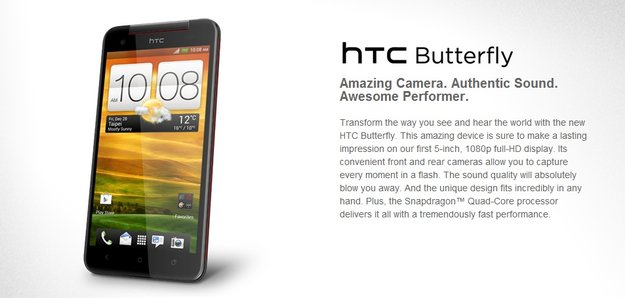 HTC Butterfly: Wird der 5-Zoller nun doch international?