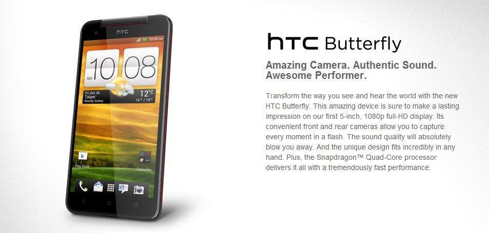 HTC Butterfly: Wird der 5-Zoller nun doch international?