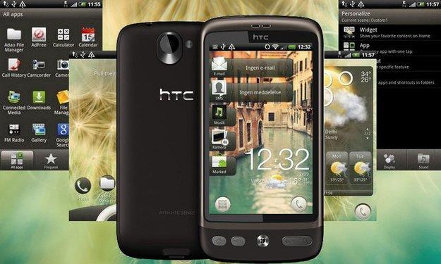 HTC Desire: Android 2.3.4 mit HTC Sense 3.5 installieren