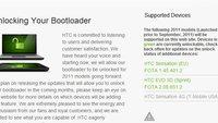HTC EVO 3D: Bootloader von EU-Geräten kann offiziell freigeschaltet werden