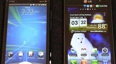 LG Optimus 3D vs HTC EVO 3D: Videovergleich der 3D-Smartphones