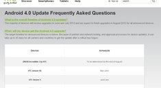 HTC: Android 4.0-Zeitplan veröffentlicht, Flyer bleibt ohne ICS