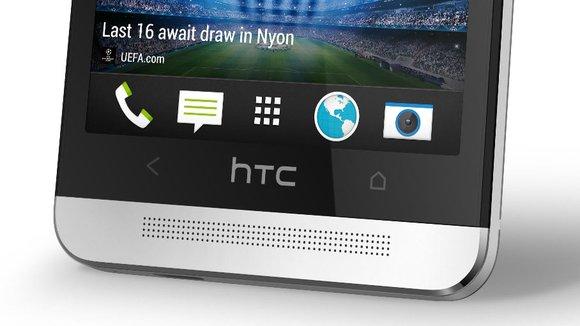 HTC One: Logo ist Touch-sensitiv, könnte als Button genutzt werden