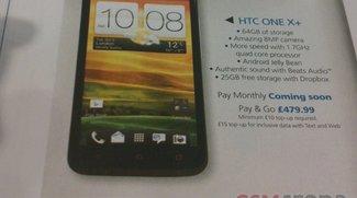 HTC One X+: Durch britische O2-Broschüre bestätigt