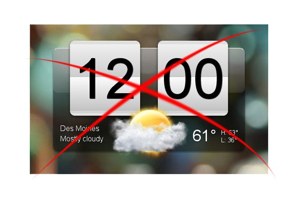 HTC-Untersuchung: Widgets für Android-Nutzer unwichtig