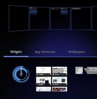 Android 3.0 Honeycomb SDK Emulator im Video
