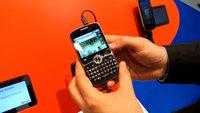 IFA 2011: Huawei Boulder -- Tastatur-Smartphone im BlackBerry-Stil im Video