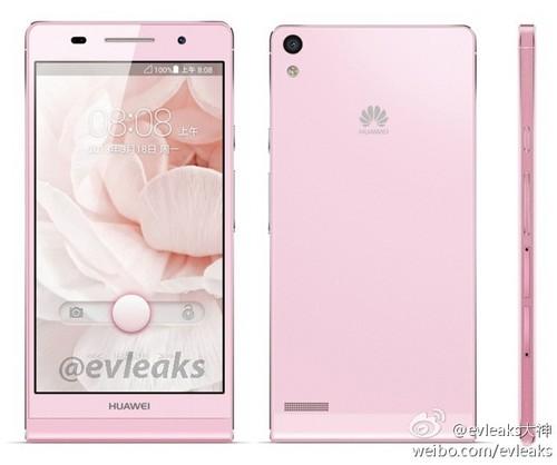 Huawei-P6-pink