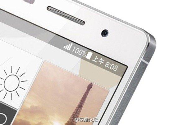 Huawei P6: Neues Foto zeigt starke iPhone-Anleihen