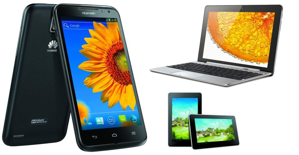 Huawei: Ascend D1 quad XL, MediaPad 10 FHD und MediaPad 7 Lite ab Oktober [IFA 2012]