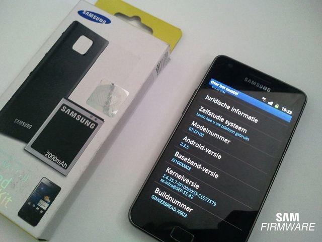 Samsung Galaxy S II: Android 2.3.5 -Firmware (I9100XXKI3) geleakt und zum Download bereit
