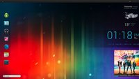 Ice Cream Sandwich-Desktop: Android 4.0-Optik auf dem Windows-PC