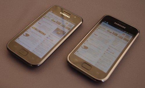 Samsung Galaxy S vs. Samsung Galaxy S Plus
