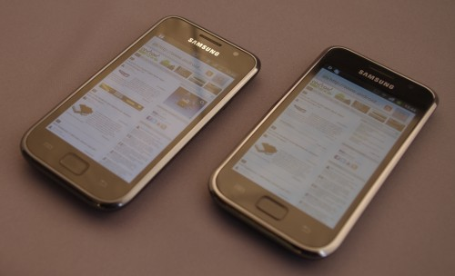Samsung Galaxy S vs. Samsung Galaxy S Plus