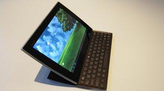 Asus Eee Pad Slider: Hands-On Video mit dem Auszieh-Tablet