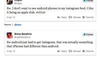 Instagram für Android: iPhone-Nutzer sind geradezu angeekelt