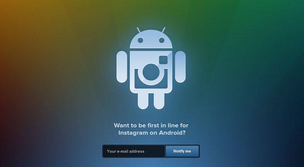 Instagram für Android: Jetzt per E-Mail vormerken lassen