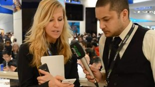 Samsung Galaxy Note 10.1: Interview mit Annika Karstadt [MWC 2012]