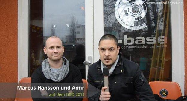 GTUG Berlin GDD 2011: Interview mit Marcus Hansson von Sony Ericsson