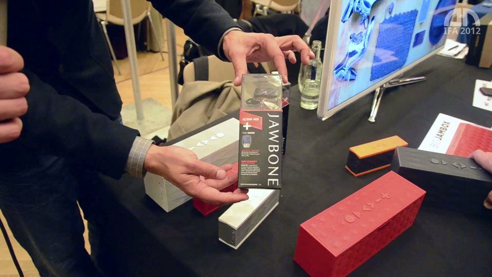 Jawbone Big Jambox: Mobile Lautsprecher im Hands-On [IFA 2012]