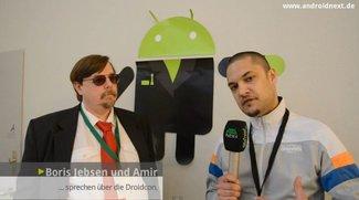 Droidcon 2012: Interview mit Mitbegründer und Organisator Boris Jebsen [Video]