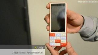 KDDI Infobar C01: Design-Androide aus Japan [Droidcon 2012]