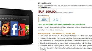 Amazon Kindle Fire HD: Doch mit Werbe-Opt-out-Option