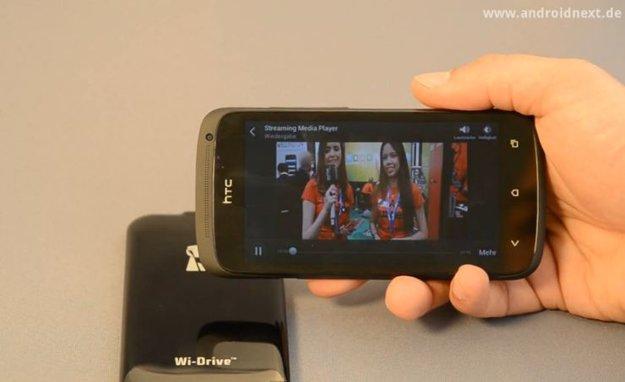 Kingston Wi-Drive: Die WLAN-Festplatte für Android im Video