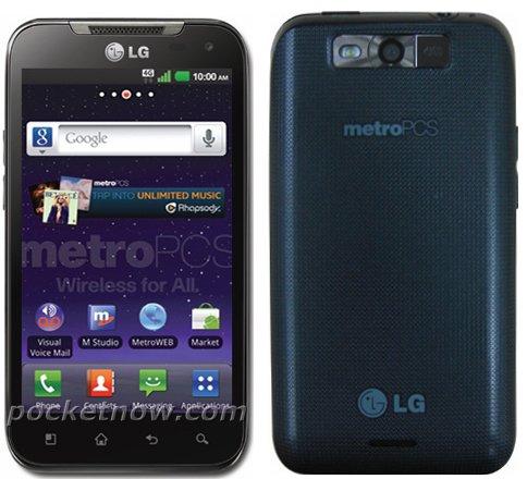 LG Connect 4G - Neues Mittelklasse-Smartphone