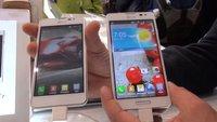 LG Optimus F5 & F7: Hands-On der Mittelklasse-Smartphones mit LTE [MWC 2013]