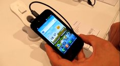 IFA 2011: LG Optimus Sol Hands-On-Video bei Vodafone