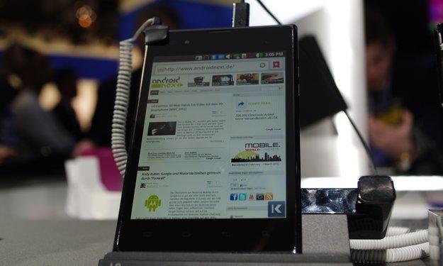 LG Vu 3: Spezifikationen geleakt, Vorstellung auf der IFA 2013?