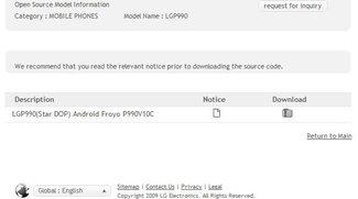 LG Optimus Speed: Quellcode veröffentlicht – Weg frei für Custom ROMs