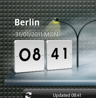 LG Optimus Speed: Wetter-Widget für alle