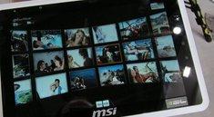 MSI Wind 100A: Noch ein Honeycomb-Tegra 2 Tablet [CeBIT 2011]