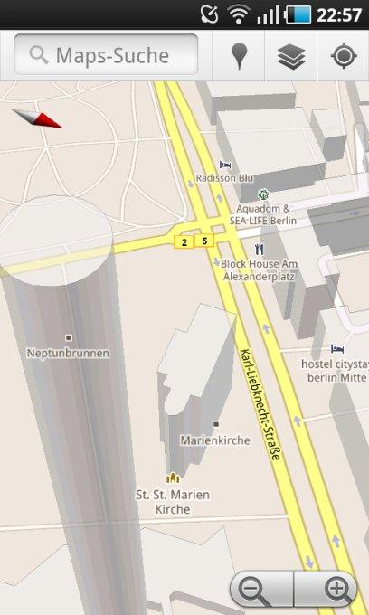 Google Maps: Update auf Version 5.4.0 mit neuen Features