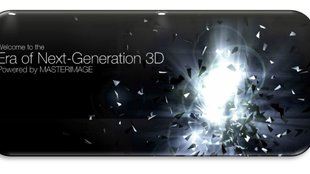 MasterImage3D: Brillenlose 3D-Displays in 720p und WUXGA