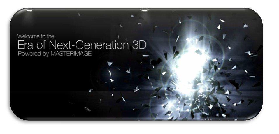 MasterImage3D: Brillenlose 3D-Displays in 720p und WUXGA