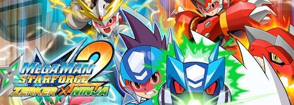 Mega Man - Star Force 2: Zerker x Ninja