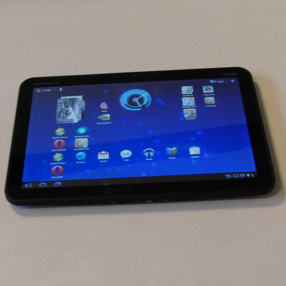 """Motorola XOOM: Testbericht zum ersten Tablet mit Android 3.0 """"Honeycomb"""""""