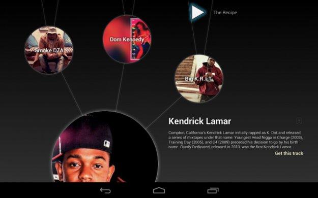 Google Music Explorer: Musik-Entdeckungsapp auf US-Tablets bereits live