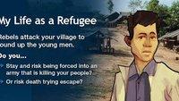 My Life as a Refugee: Flüchtlingschicksale in einer App der UN