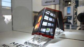 NEC MEDIAS-Serie: Z, X, W, Tab und Cloud Communicator im Video [MWC 2012]