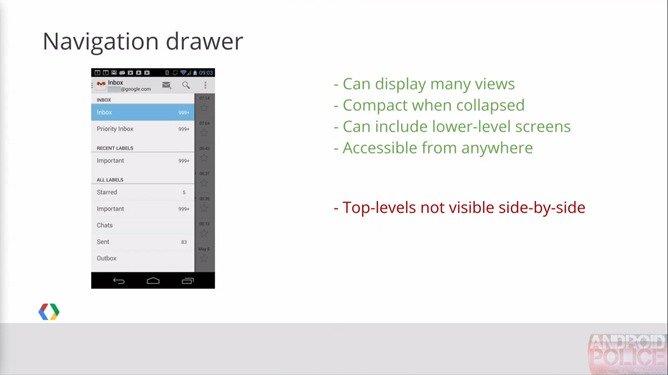 Gmail: Neues Sidebar-Design der Android-App geleakt