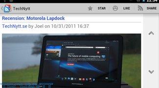 Google Reader für Android: Screenshots des kommenden Updates