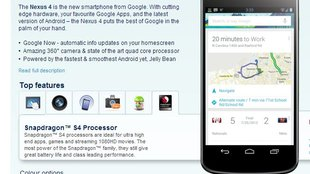 LG Nexus 4: Bei Carphone Warehouse in UK bereits vorbestellbar