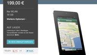 Nexus 7: Geld zurück für jüngst gekaufte 16 GB-Modelle