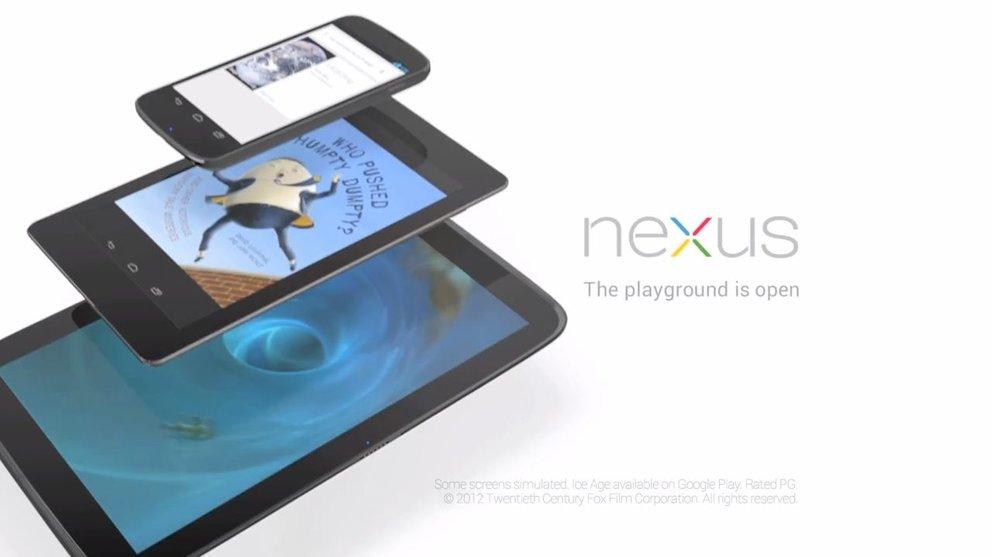 Nexus 4, Nexus 7, Nexus 10: Preise und Verfügbarkeiten offiziell bekannt gegeben